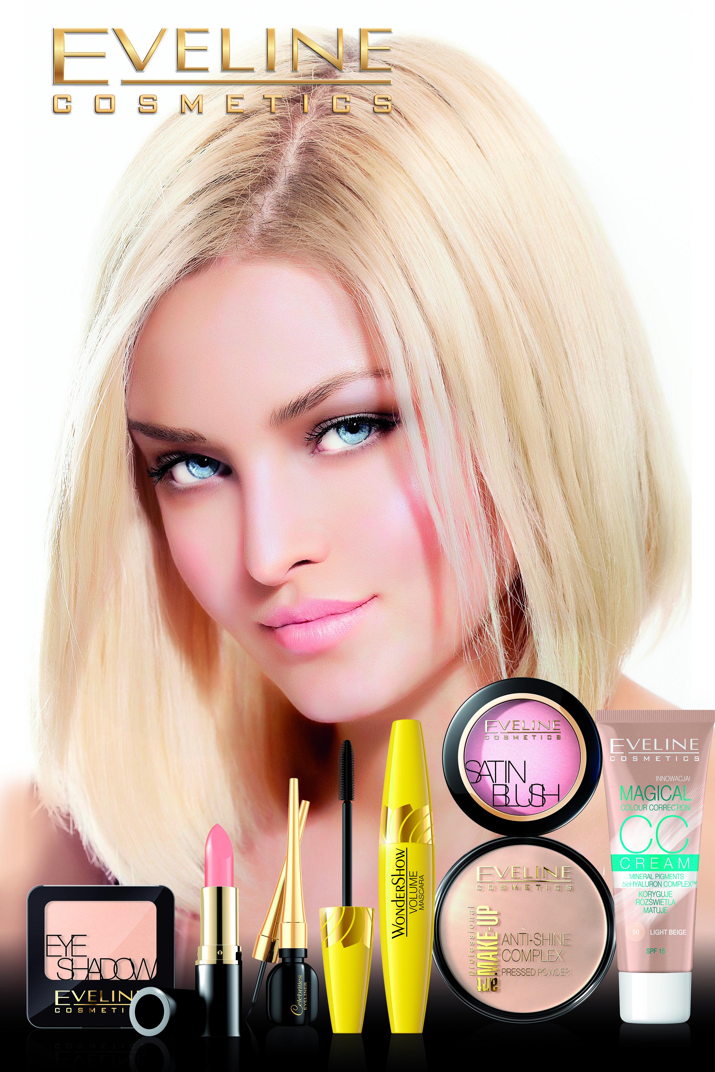 Makijaż dla blondynki.