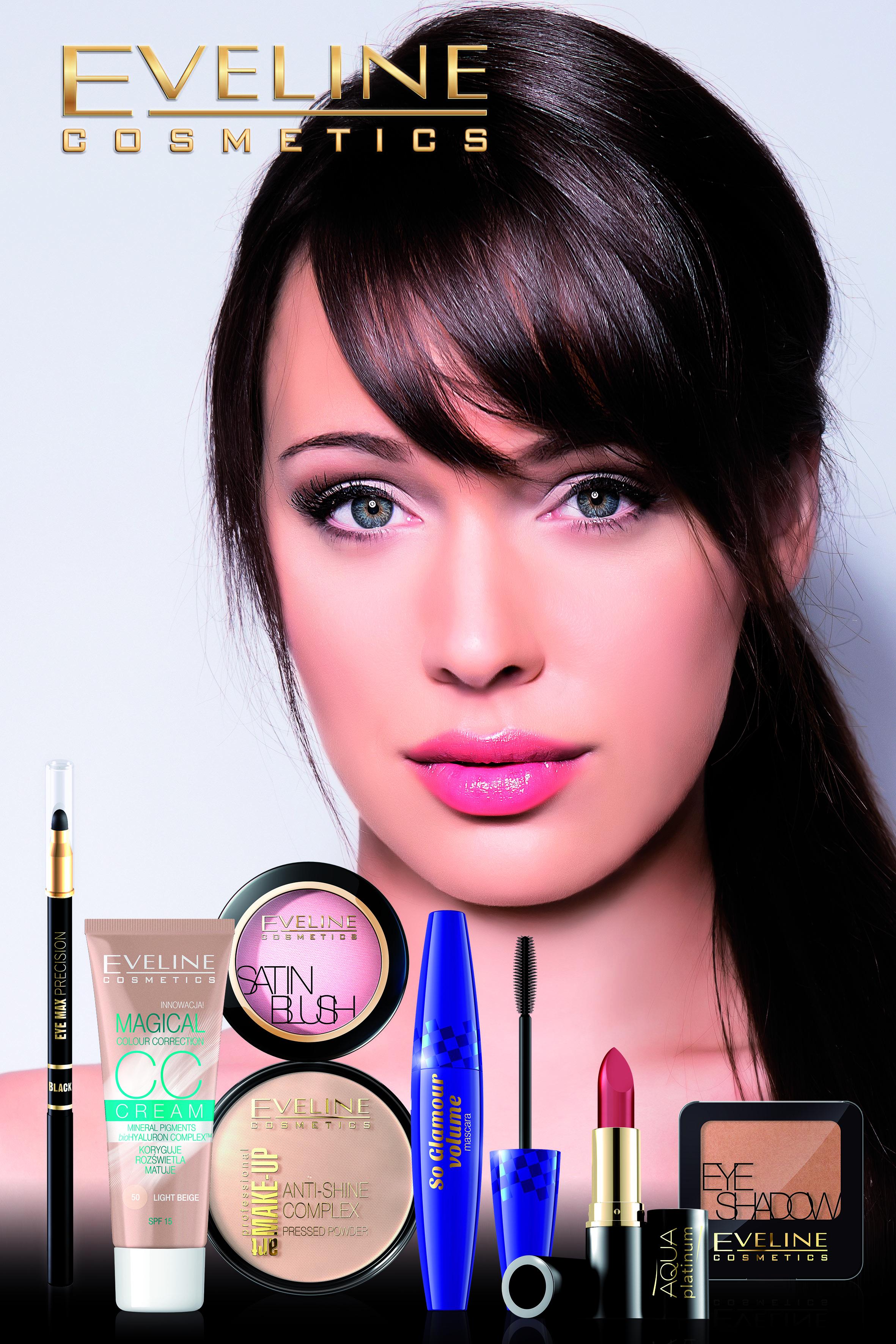 Makijarz dla brunetki.