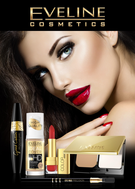 Magia koloru w świątecznym makijażu Eveline