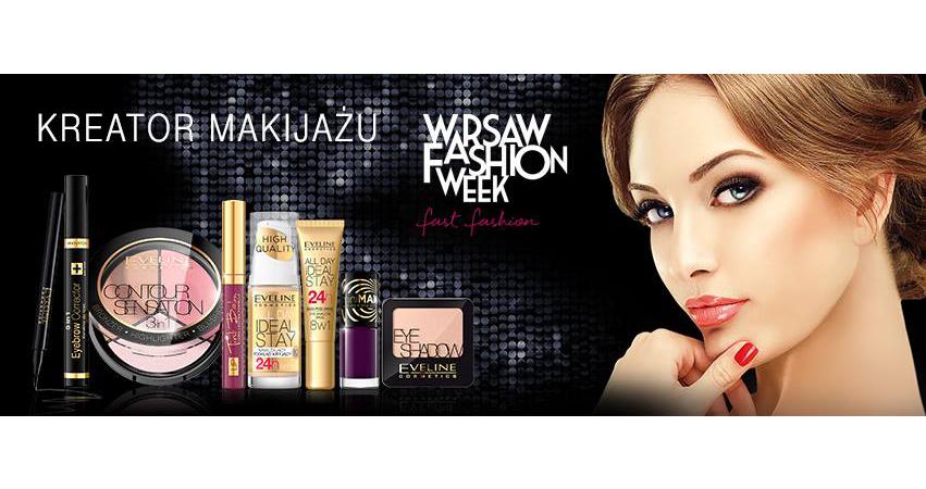 Eveline Cosmetics kreatorem makijażu podczas Warsaw Fashion Week