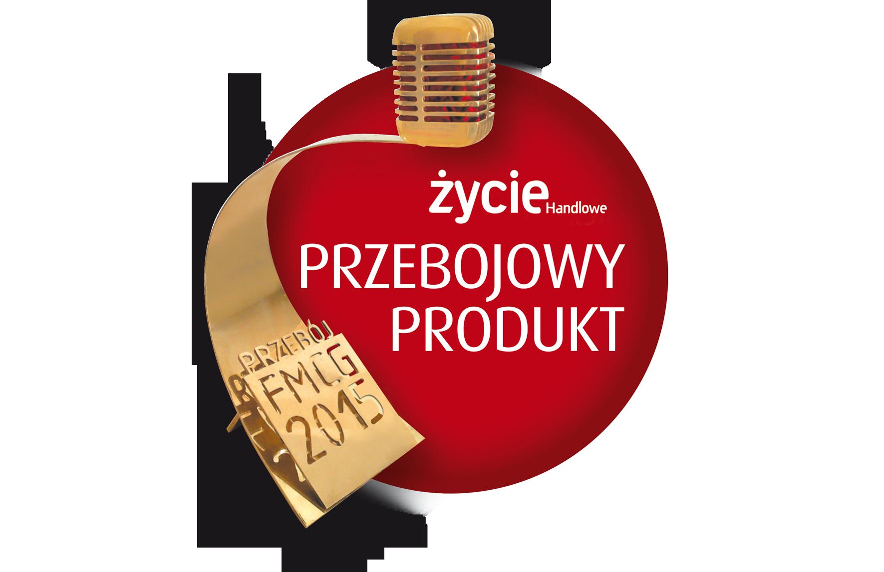 """Nagroda w konkursie """"PRZEBOJE FMCG 2015"""""""