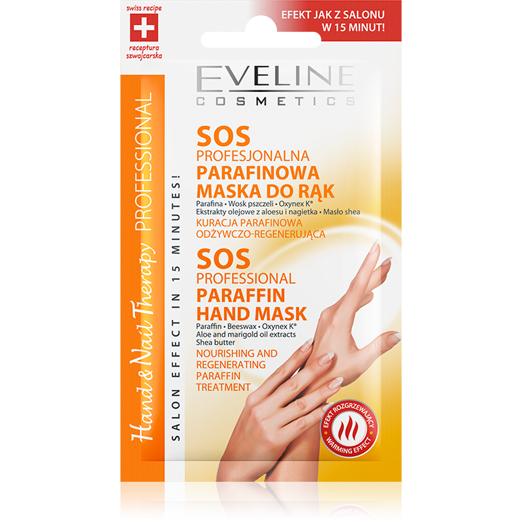 SOS PROFESSIONAL PARAFFIN HAND MASK