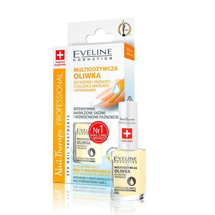 CUTICLES AND NAILS MULTI-NOURISHING OIL WITH AVOCADO OIL AND ...
