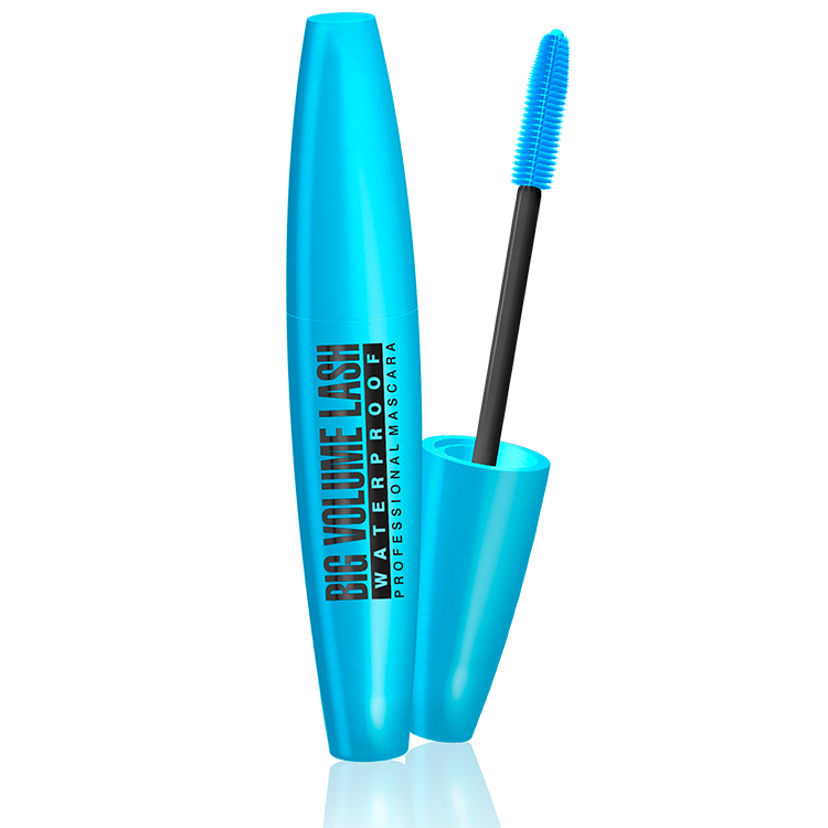 Mascara BIG VOLUME LASHES PROFESSIONAL MASCARA WATERPROOF
