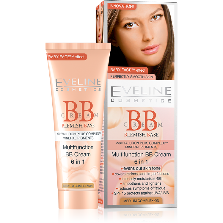 Multifunction BB Cream 6 in 1 - Medium Complexion