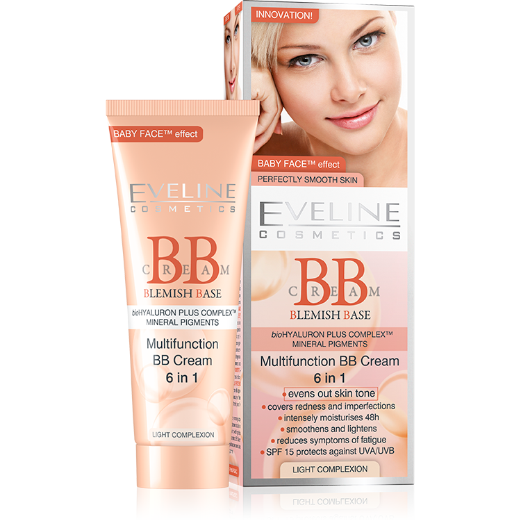 Multifunction BB Cream 6in1 - Light Complexion