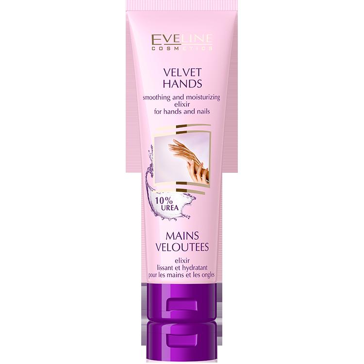 VELVETY HANDS smoothing and moisturizing elixir