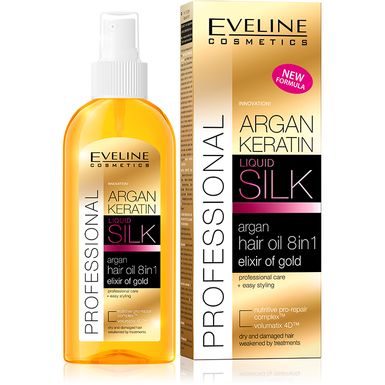Argan hair oil 8in1