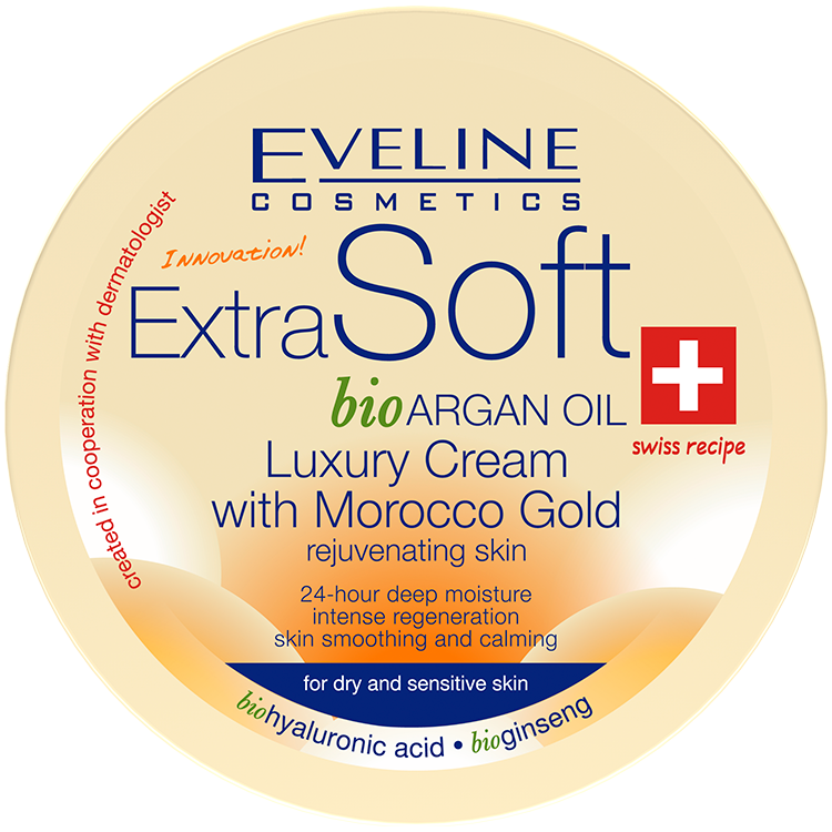 Luxury Cream with Morocco Gold