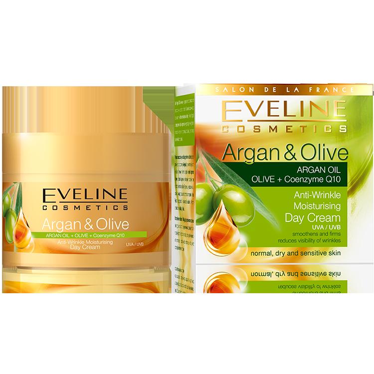 Argan & Olive - Hydratační denní krém proti vráskám