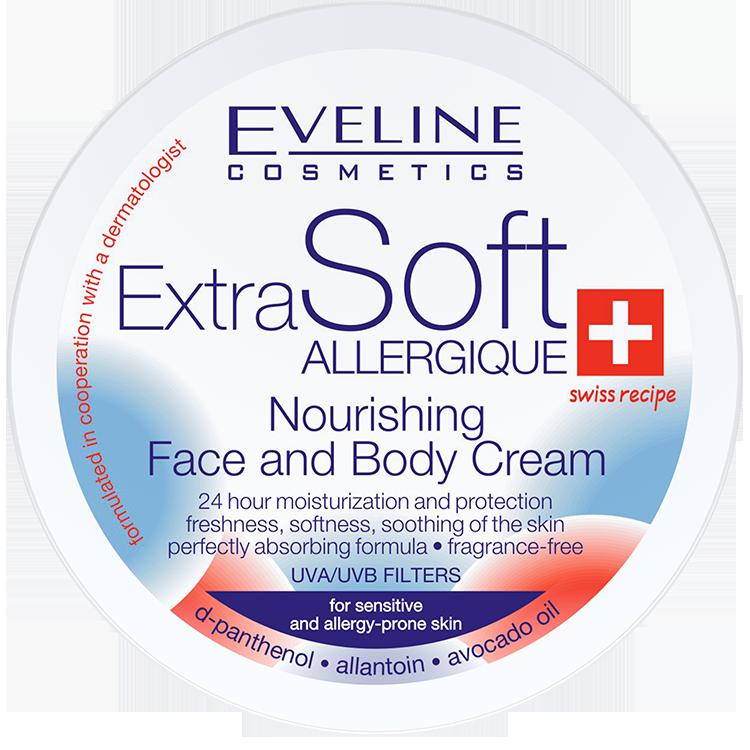 EXTRA SOFT – Výživný tělový krém na obličej a tělo