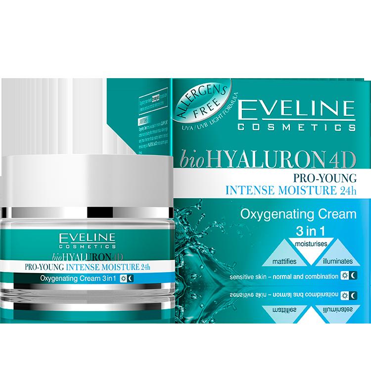 Oxygenating cream 3in1 INTENSE MOISTURE 24h
