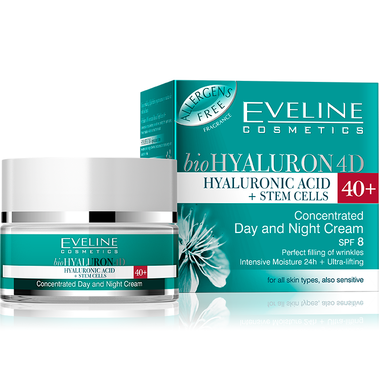 CONCENTRATED DAY AND NIGHT CREAM 40+ SPF 8