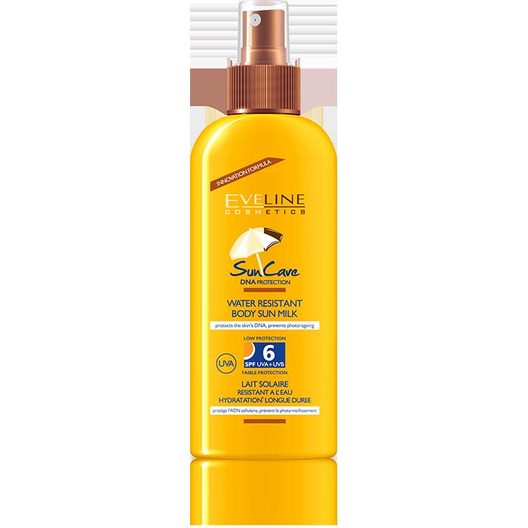 SUN CARE Water resistant body sun milk SPF 6