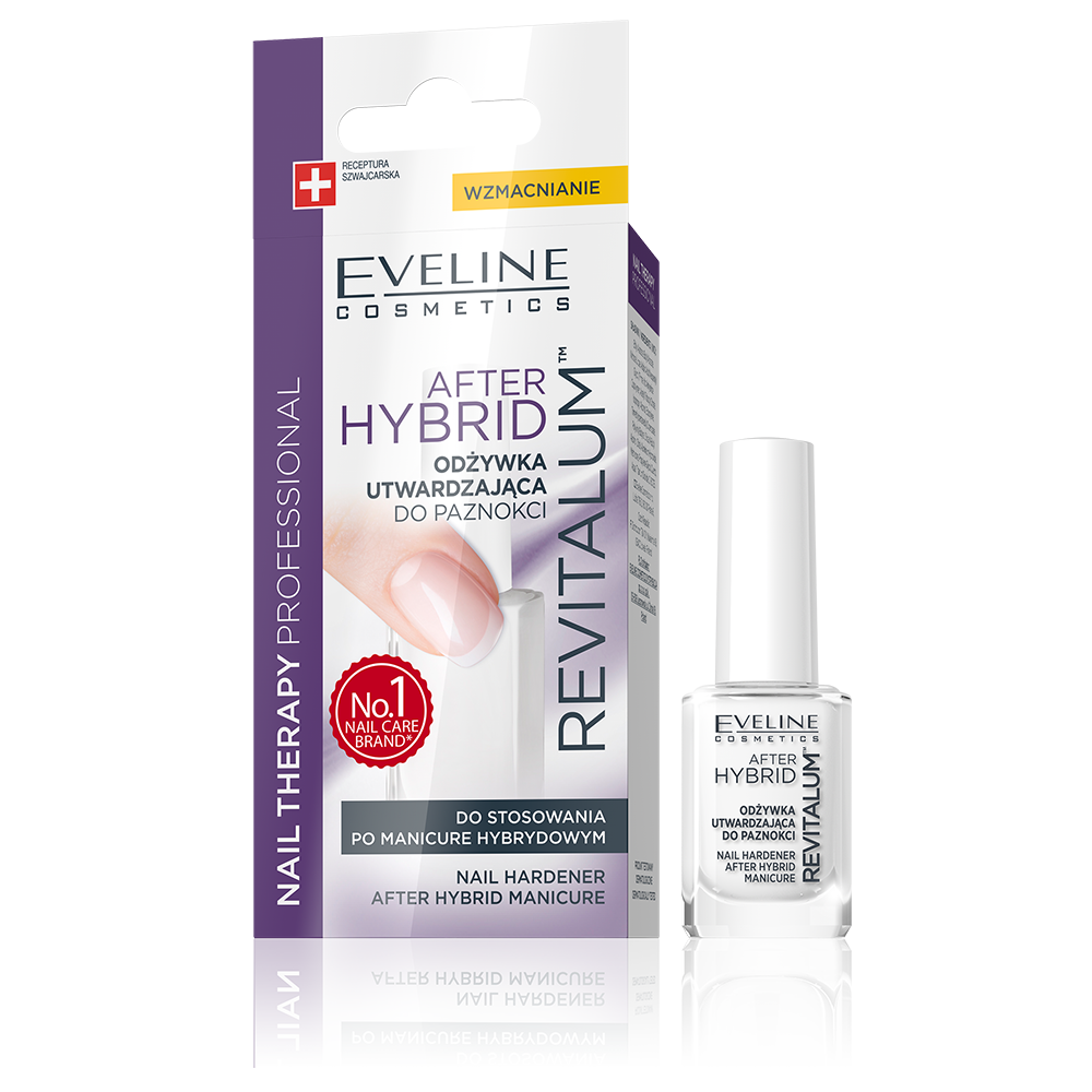REVITALUM NAIL HARDENER AFTER HYBRID MANICURE | Eveline Cosmetics