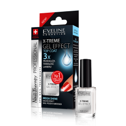 X-TREME GEL EFFECT  TOP COAT PŁYNNE SZKŁO