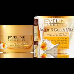 Argan & Kozí mléko - Vyživující a zklidňující noční krém