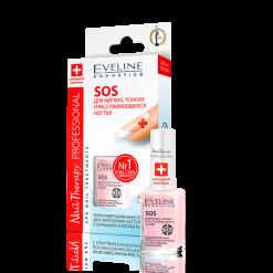 Nail Therapy Мультивитаминный препарат для укрепления ногтей с кальцием и коллагеном